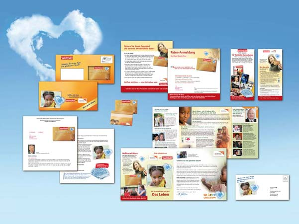 Fundraising-Mailing World Vision/ Weltbild